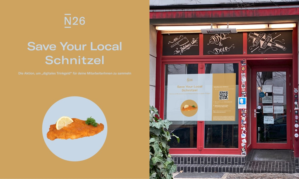 """Save your local Schnitzel"" - Chicago Williams"