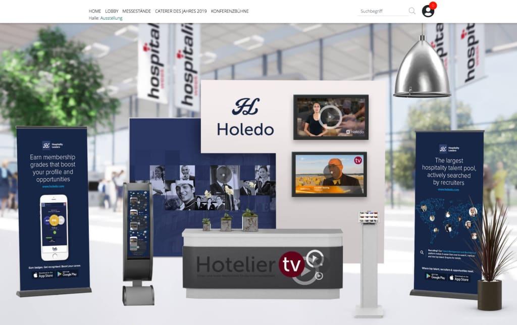 Holedo at Hospitality Week 2020