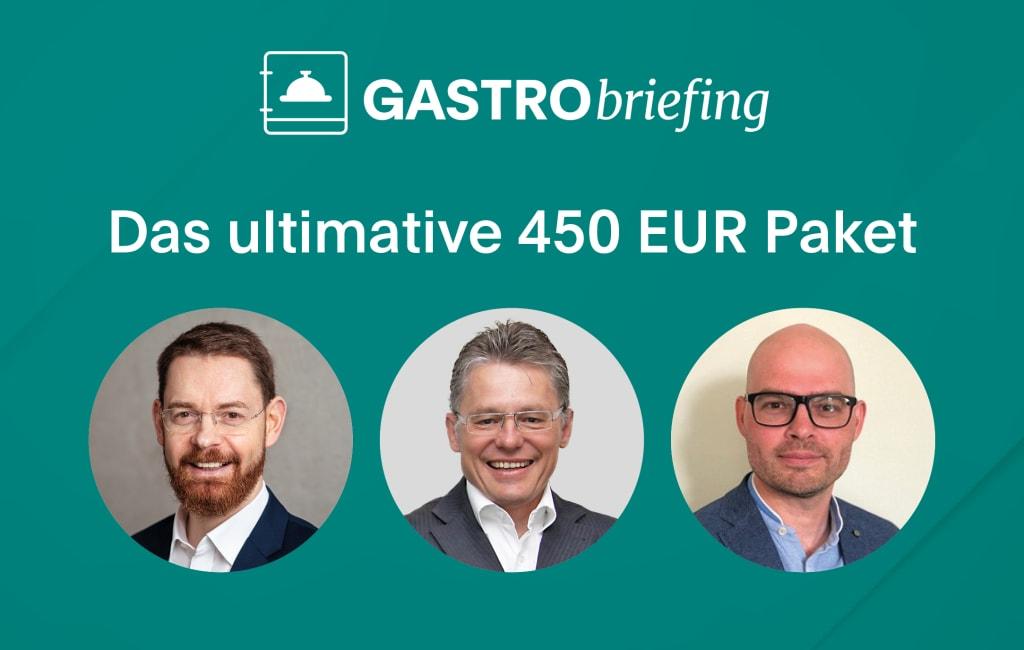 """Dem Personalmangel entgegentreten: ADHOGA GASTRObriefing mit Checkliste zum """"ultimativen 450 EUR Vergütungspaket"""""""