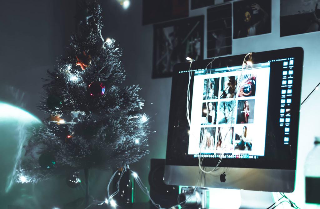 digital christmas party - dev asangbam