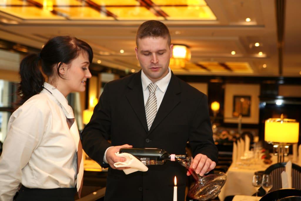Ausbildung in Hotellerie und Gastronomie (Foto: Dehoga/Cordula Giese)