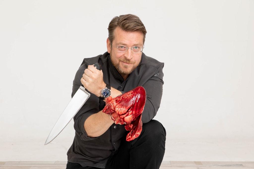 Küchenchef und Gastronom Markus Nagl
