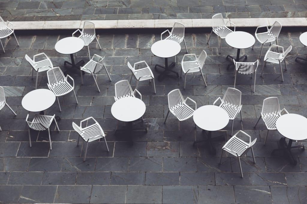 Restaurant empty places