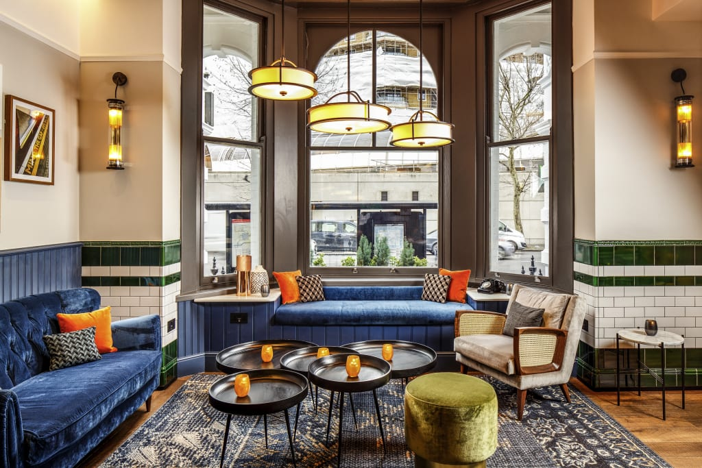 Lobby im Ibis Styles London Gloucester Road
