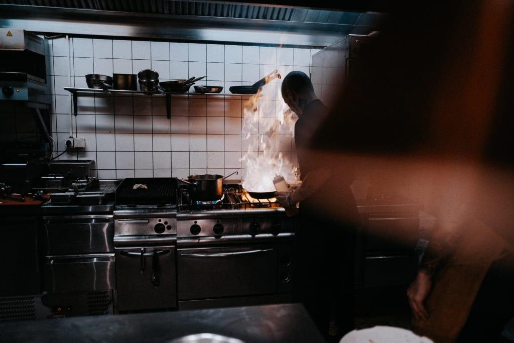 Restaurant kitchen (Photo: Lasse Bergqvist)
