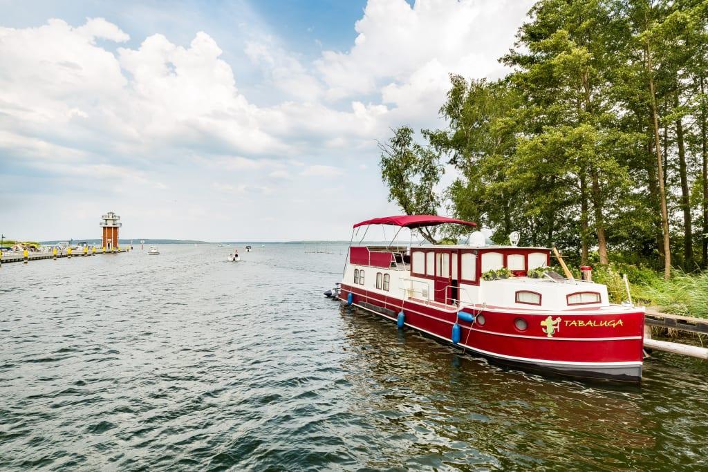 Plau am See in der Mecklenburgischen Seenplatte mit der Südbahn erkunden. Foto: TMV/Kirchgessner