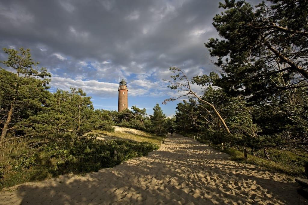 Der Leuchtturm am Darßer Ort (Quelle: Voigt & Kranz UG)