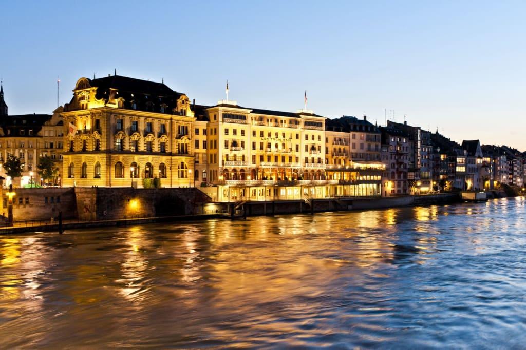 Les Trois Rois Hotel Basel