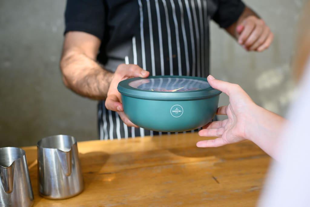 Rebowl - Take-away Mehrwegschalen für Restaurants & Gastronomie