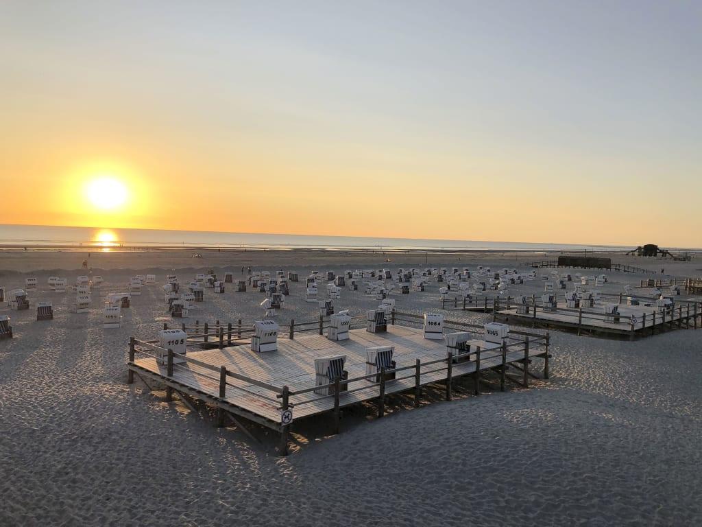 ©TZ SPO Sonnenuntergang Ordinger Strand