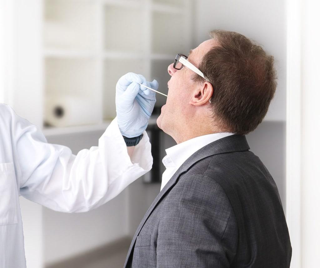Covid-19-Antigen-Schnelltest