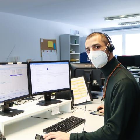 """""""Helfen, wo es geht"""": Das Reservierungs-Team der Hostelkette A&O bietet Gesundheitsämtern Unterstützung bei der Kontaktnachverfolgung an (Foto: A&O)"""