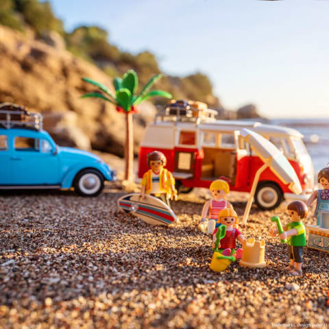 Urlaub am Strand in Griechenland? Im Spiel mit Playmobil kein Problem (Foto: Playmobil)
