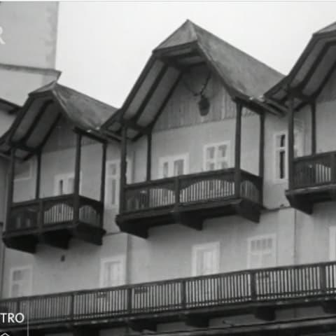 Hotel Weisses Rössl am Wolfgangsee 1963