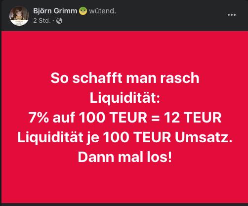 Björn Grimm zu MwSt 1