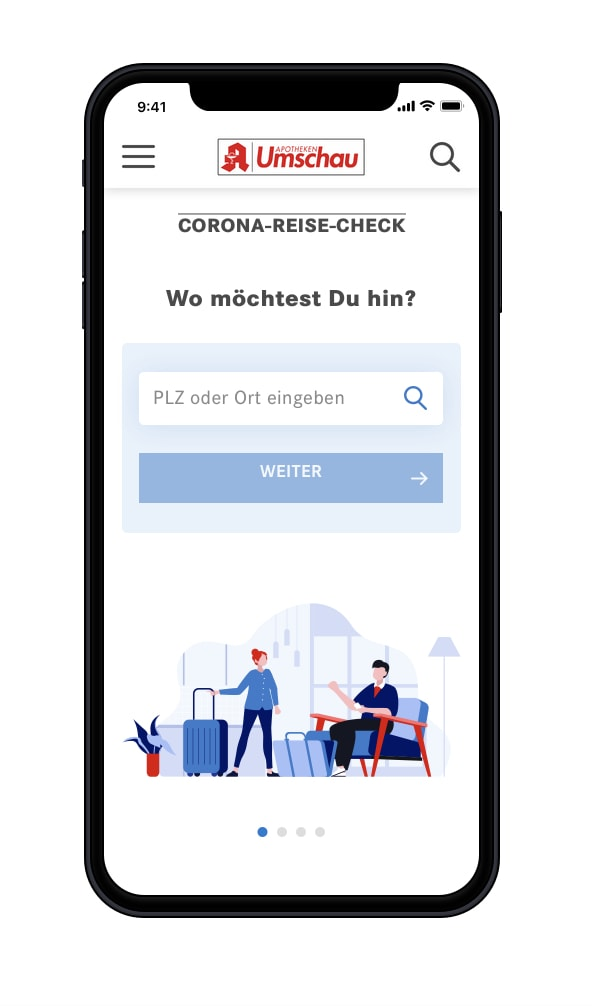 Coronakonform von A nach B: Apotheken Umschau startet Corona-Reise-Check für die Geschäftsreiseplanung