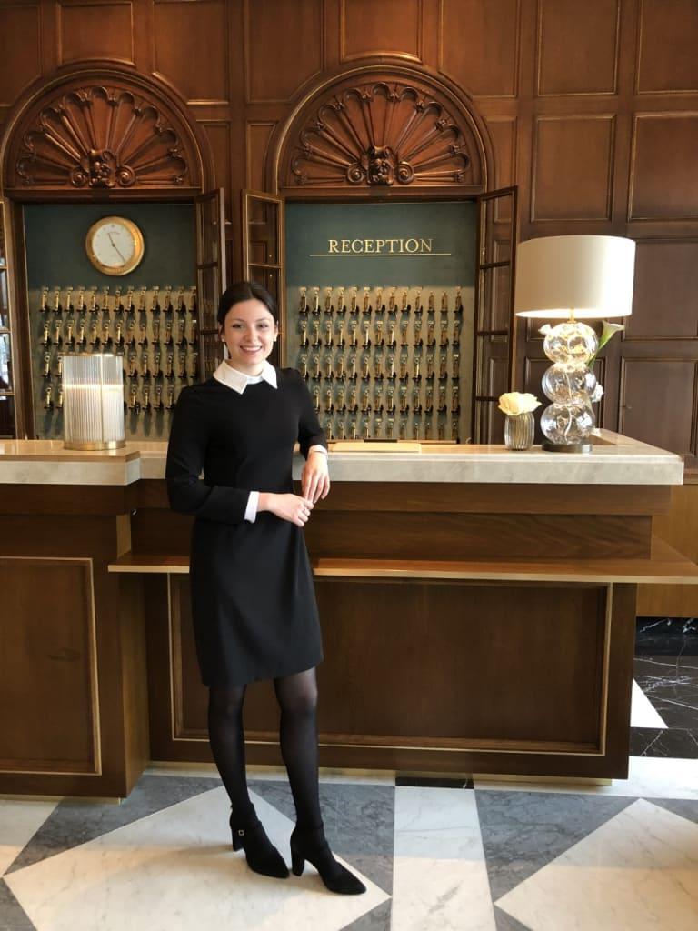 Lara Dröge - Receptionistin des Jahres 2020/21 (Foto: Miriam Ziemer)