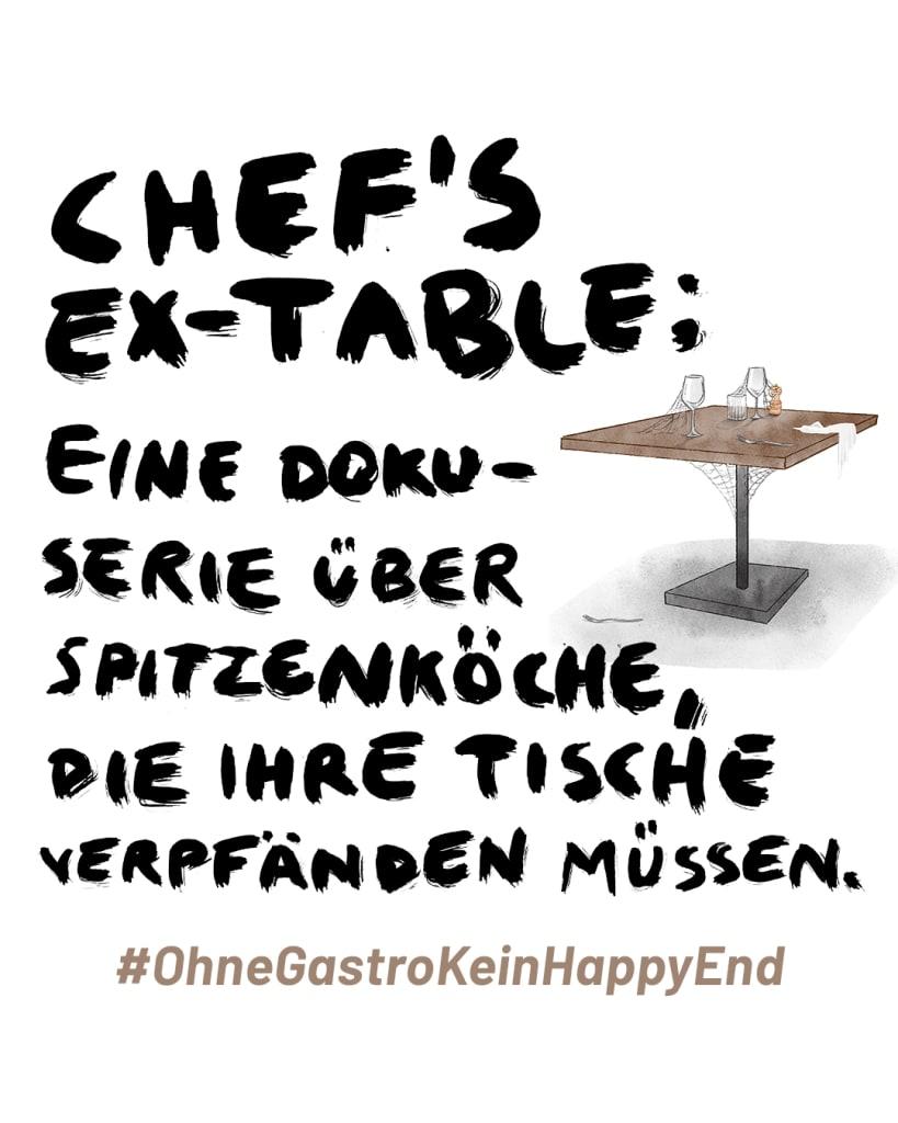 OhneGastroKeinHappyEnde - Chefstable