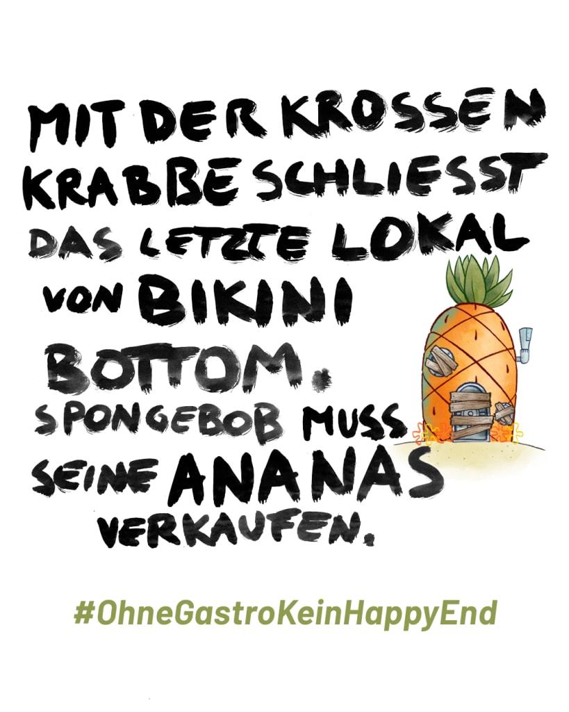 Spongebob - OhneGastroKeinHappyEnde