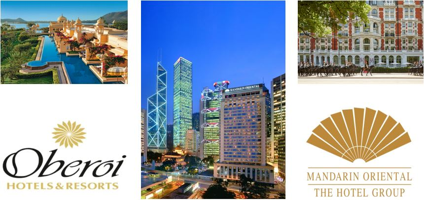 Mandarin Oriental & Oberoi Hotels