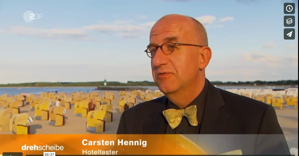 Hoteltester Carsten Hennig