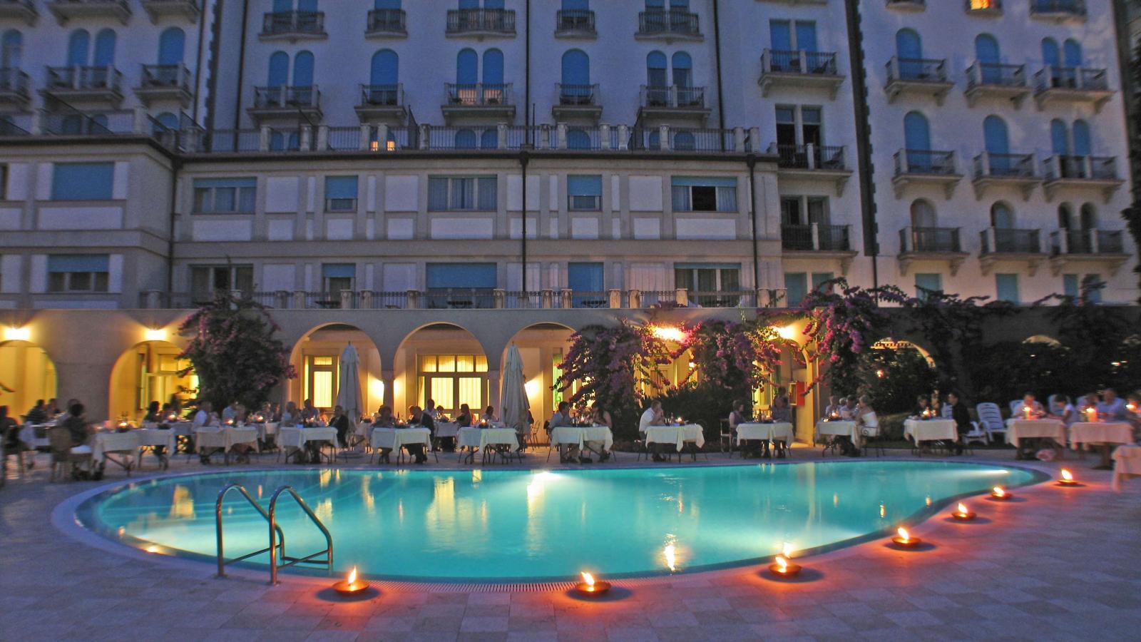 Hotel Savoy Palace Lake Garda Italy