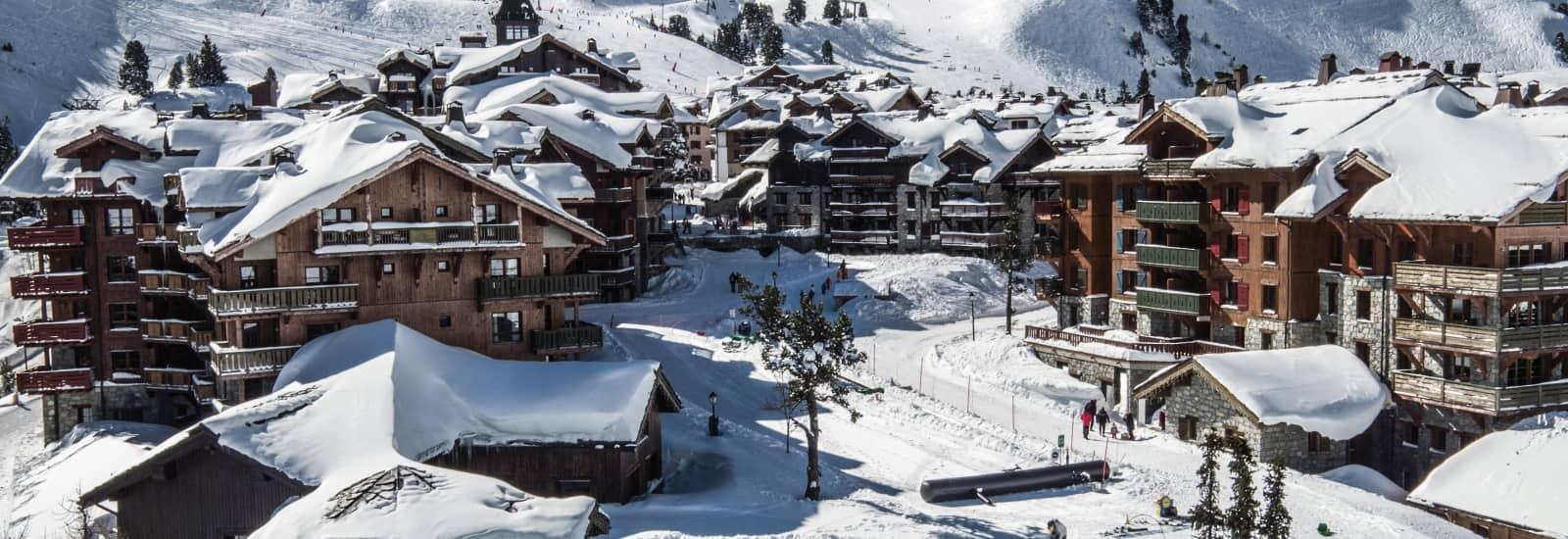Catered ski chalets les arcs 1950 webcam
