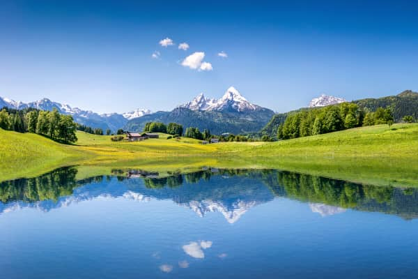 Salzburg, Hidden Lakes, Austrian Walking Tour,St. Johann in Tirol