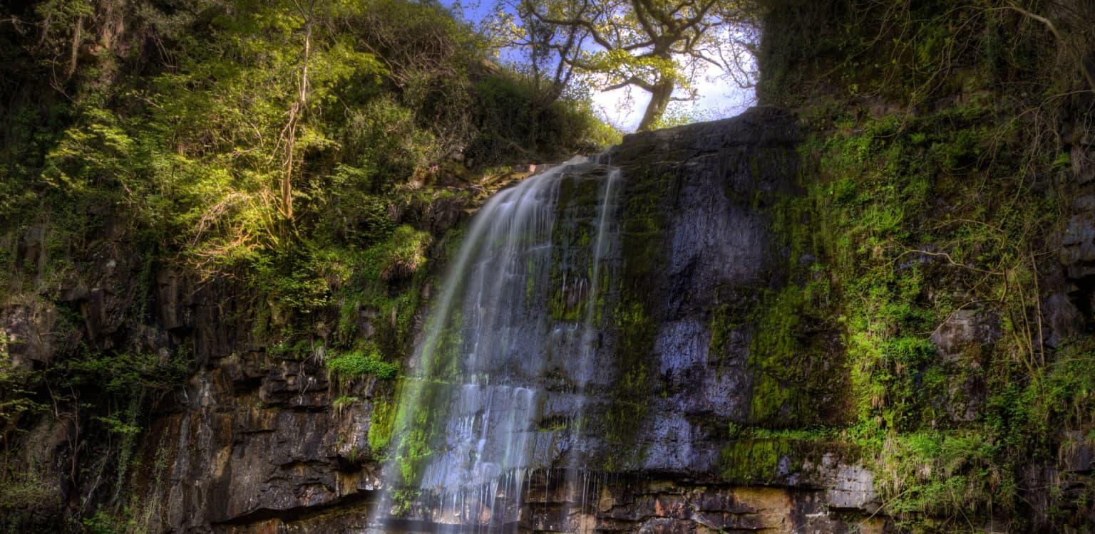 1. Henrhyd Falls, Wales