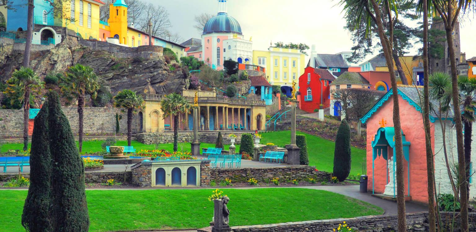 6. Portmeirion, Wales