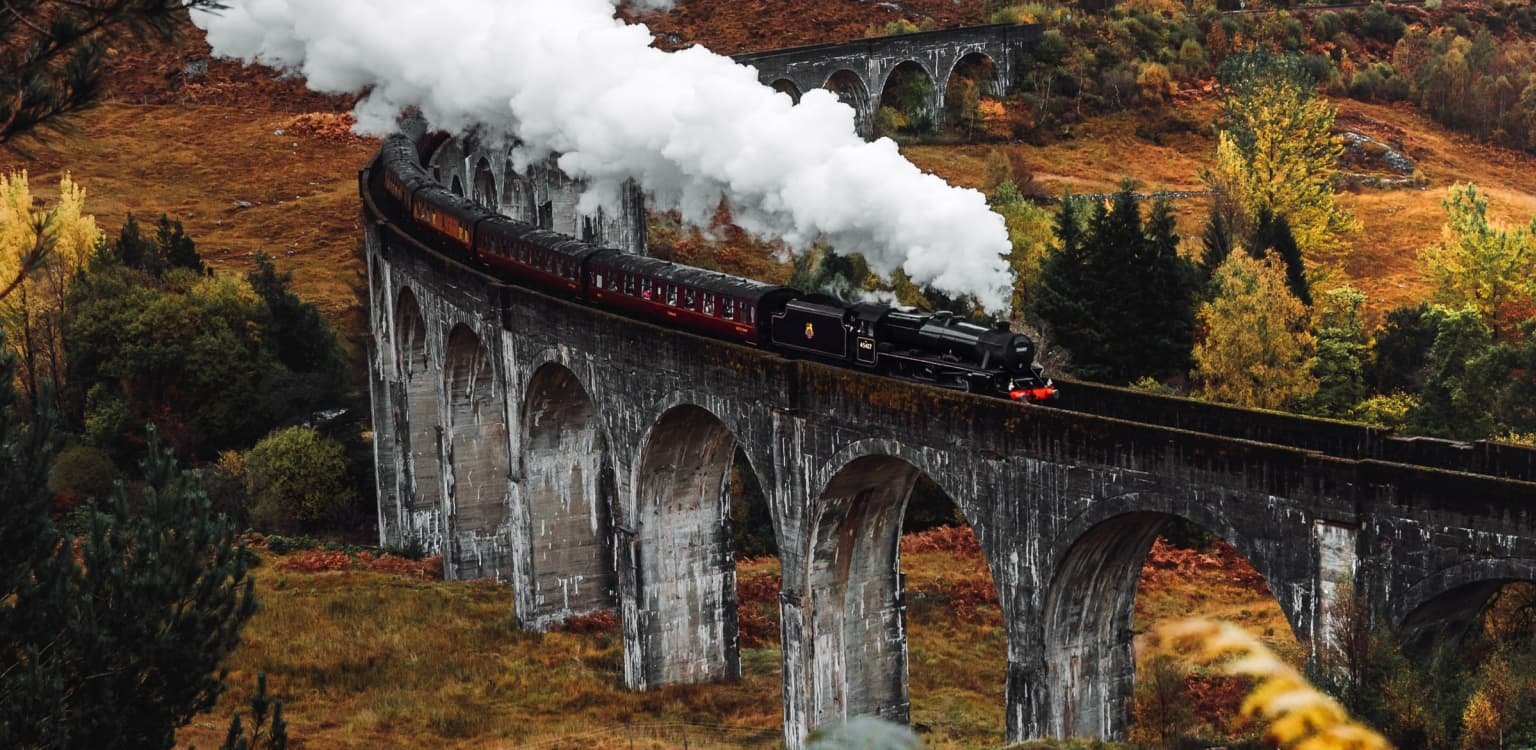 A trip on the Jacobite Steam Train