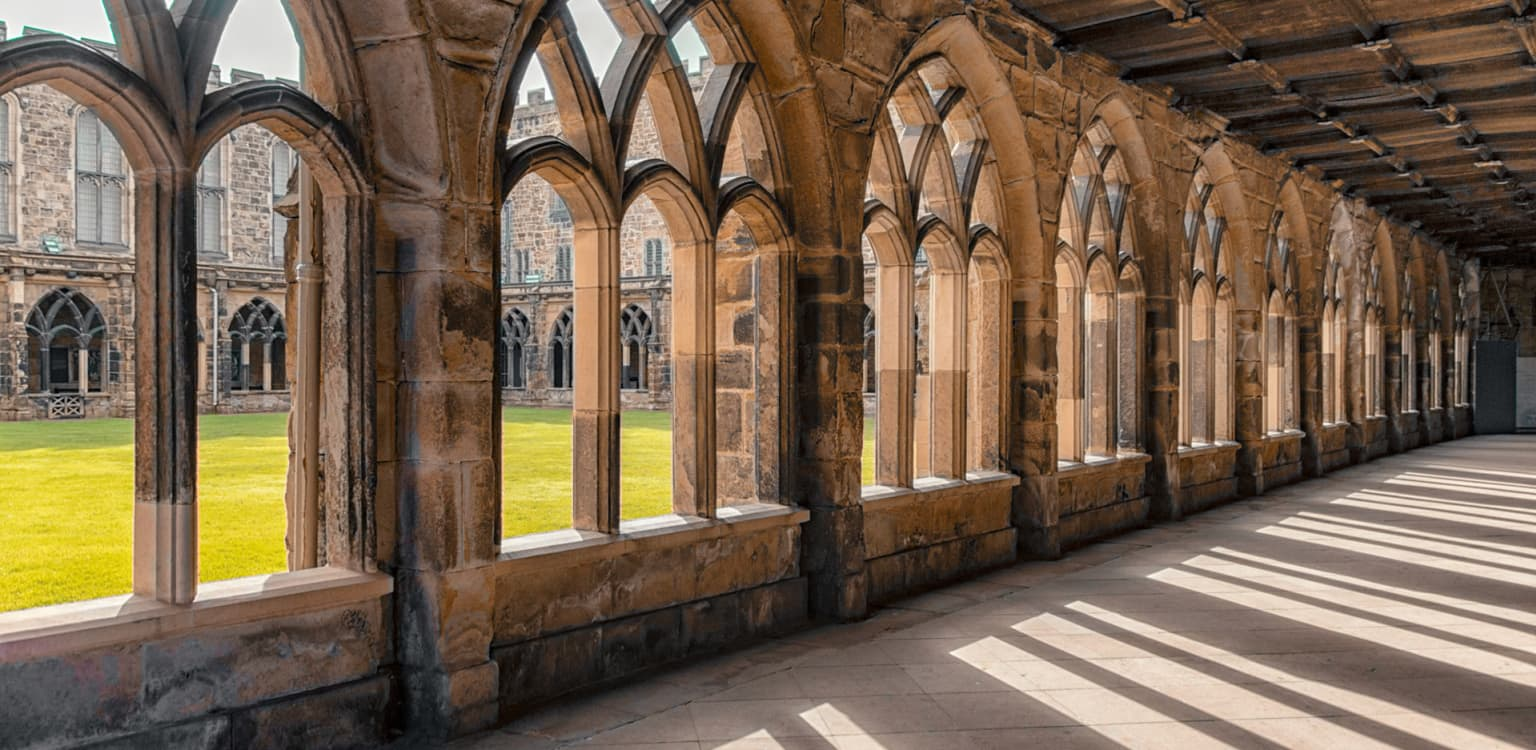 Walk the halls of Hogwarts in Durham Cathedral