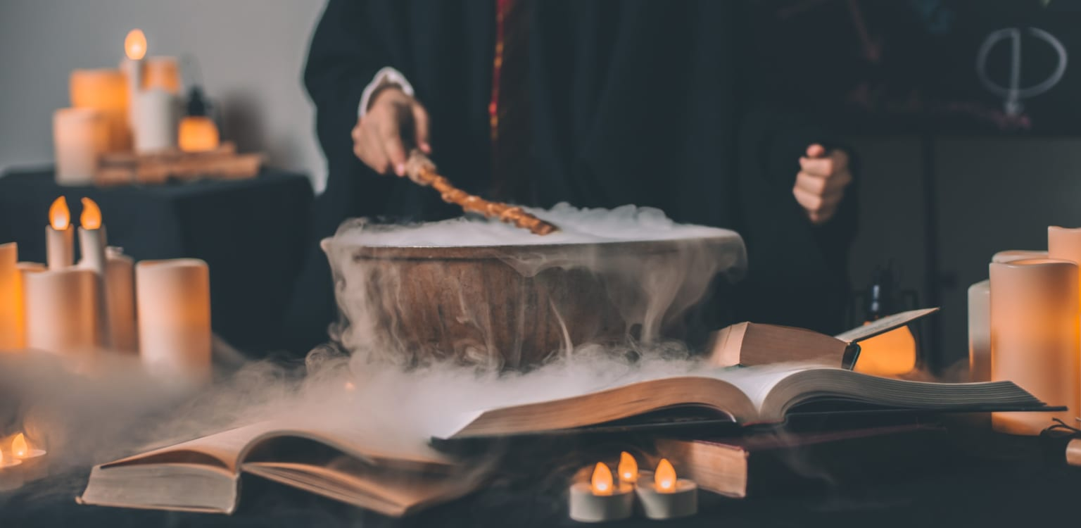 Potions class at Lacock Abbey
