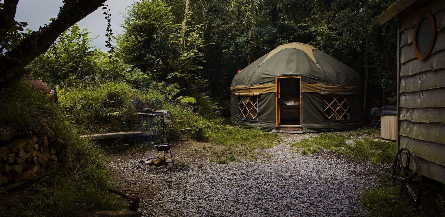 The Yurt Hideaway, Wales