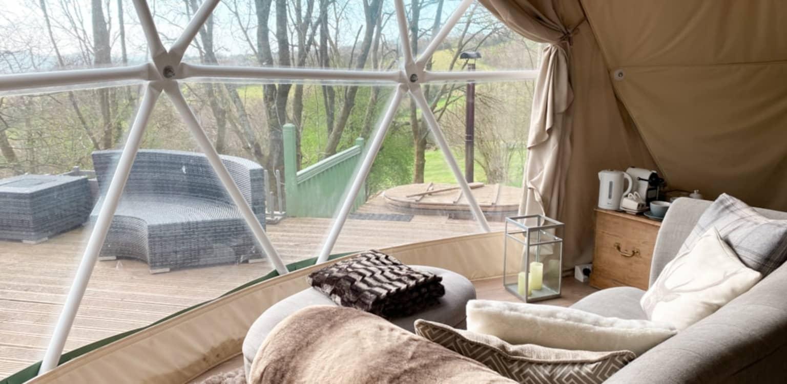 The Tree Dome, Woodland Escapes, Shropshire