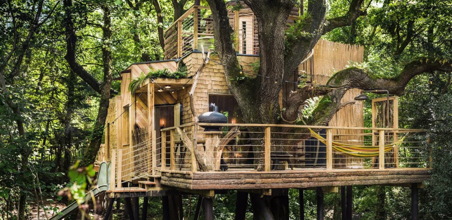 The Woodman's Treehouse, Dorset