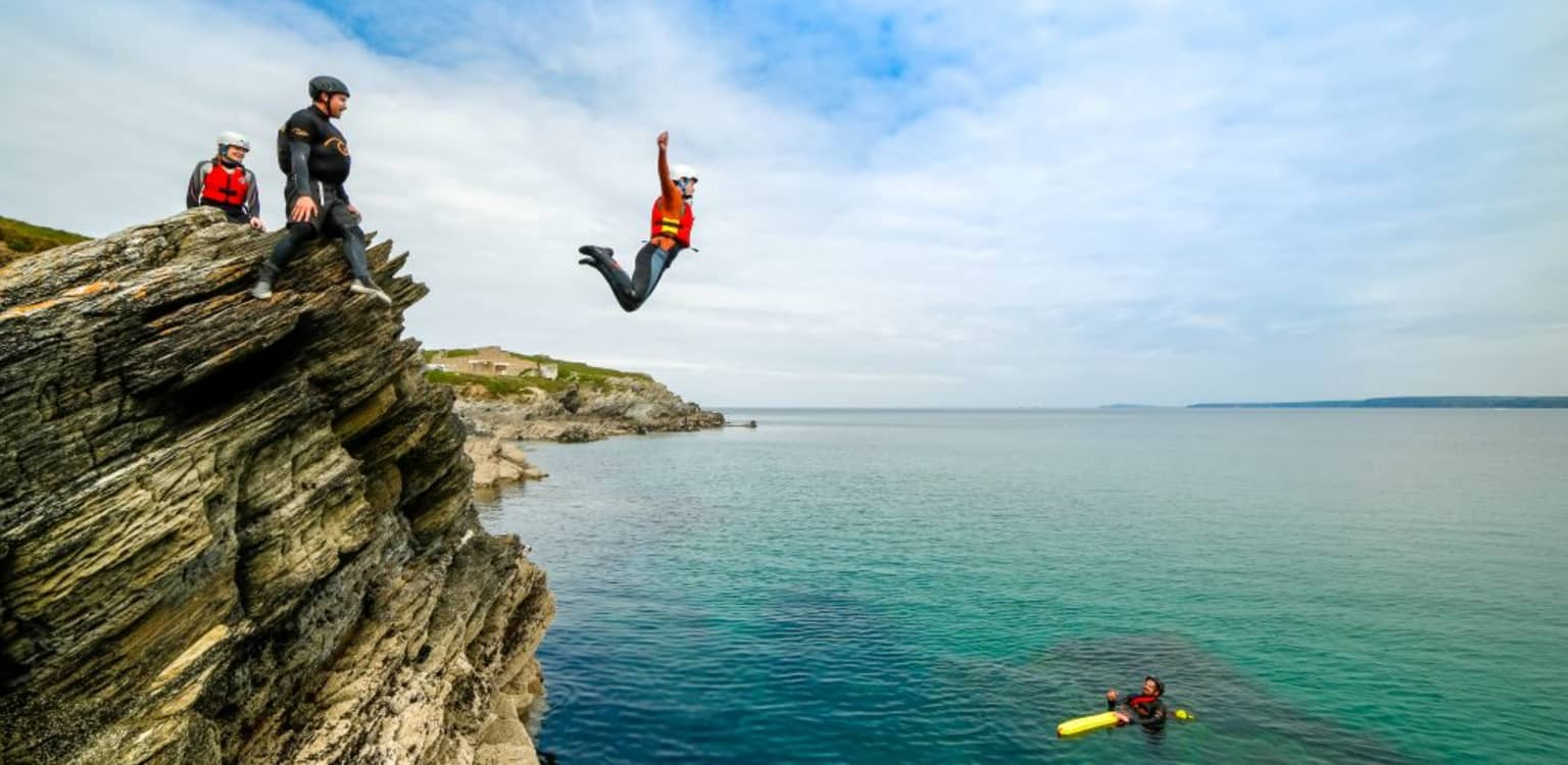Surf, Coasteer and Wild Camp in Cornwall