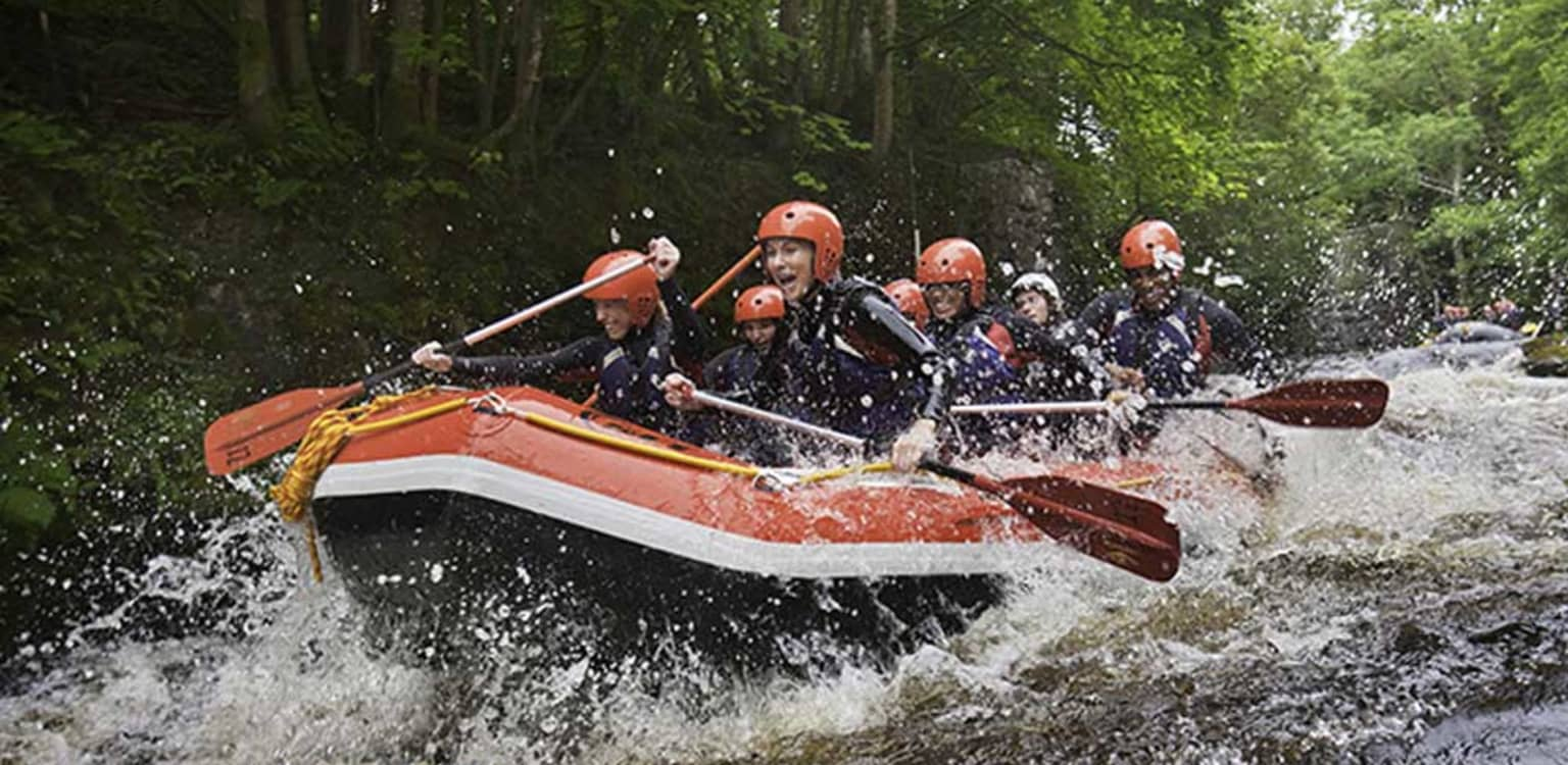 Bell Tents and White Water rafting in Snowdonia