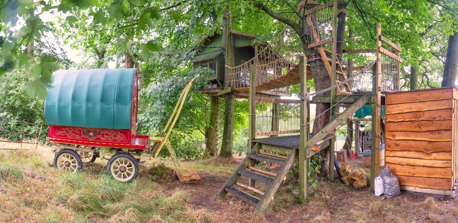 Copse Camp, Owl Lodge, Llandegla