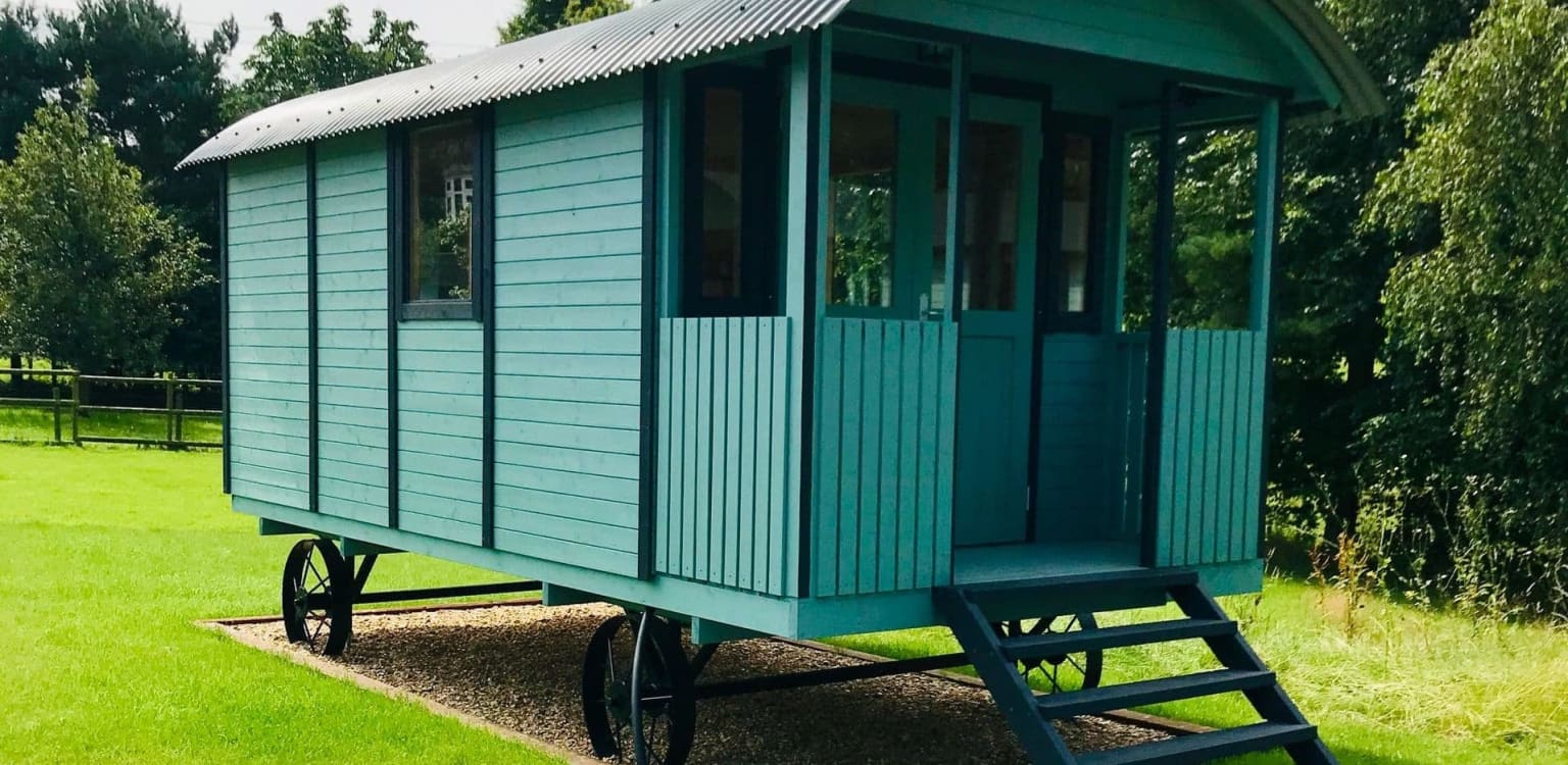 3. Glamping at Holly Grove Farm, Staffordshire