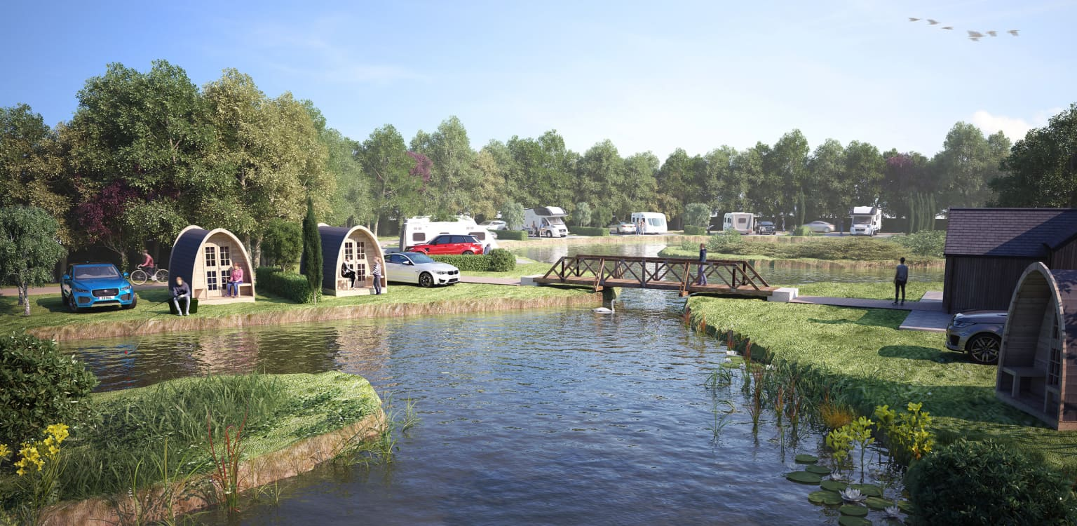 1. Fields End Water Caravan Park, Lodges & Fishery, Cambridgeshire