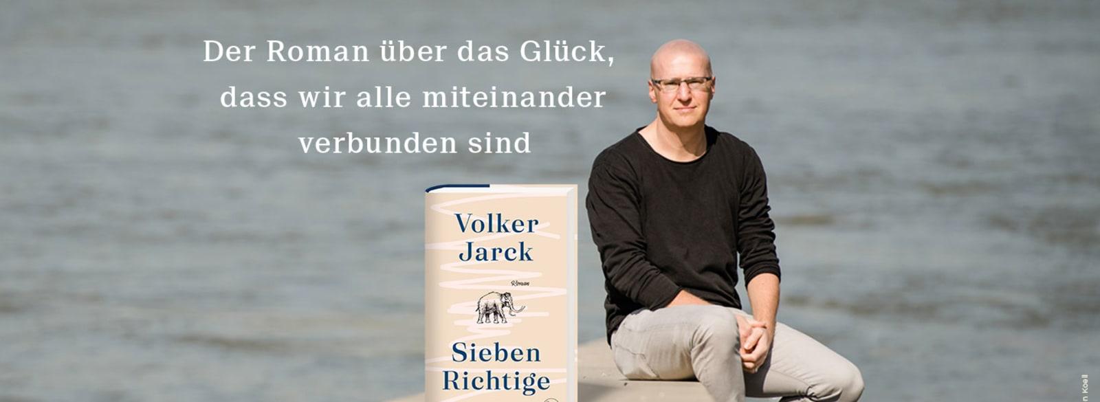 Banner: Volker Jarck und sein Titel Sieben Richtige