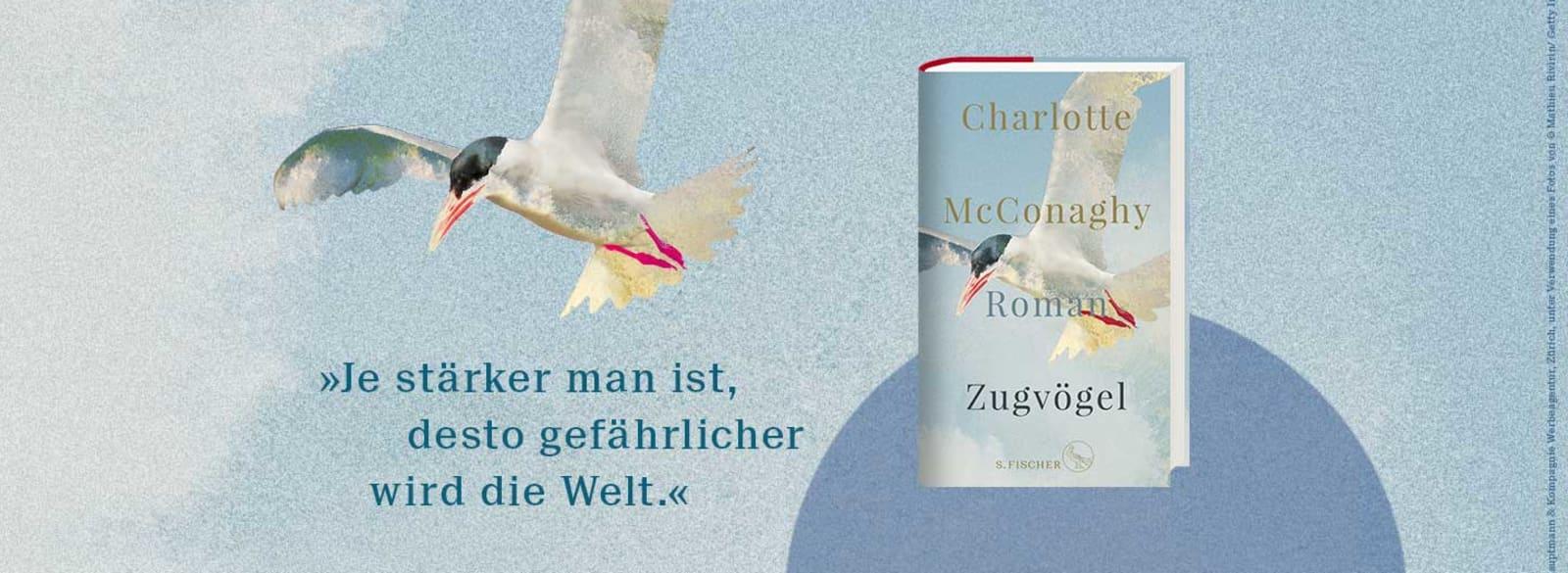 Charlotte McConaghy – Zugvögel Banner