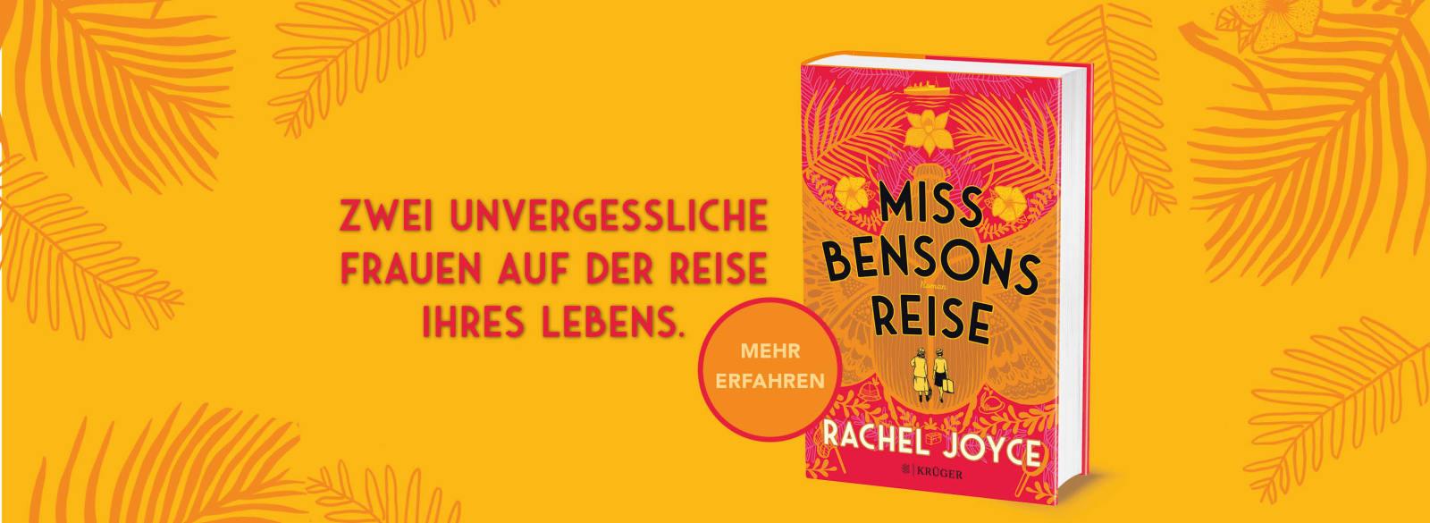 Grafik für Miss Bensons Reise mit Cover