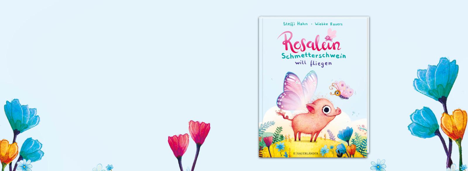 Herobanner Rosalein Schmetterschwein