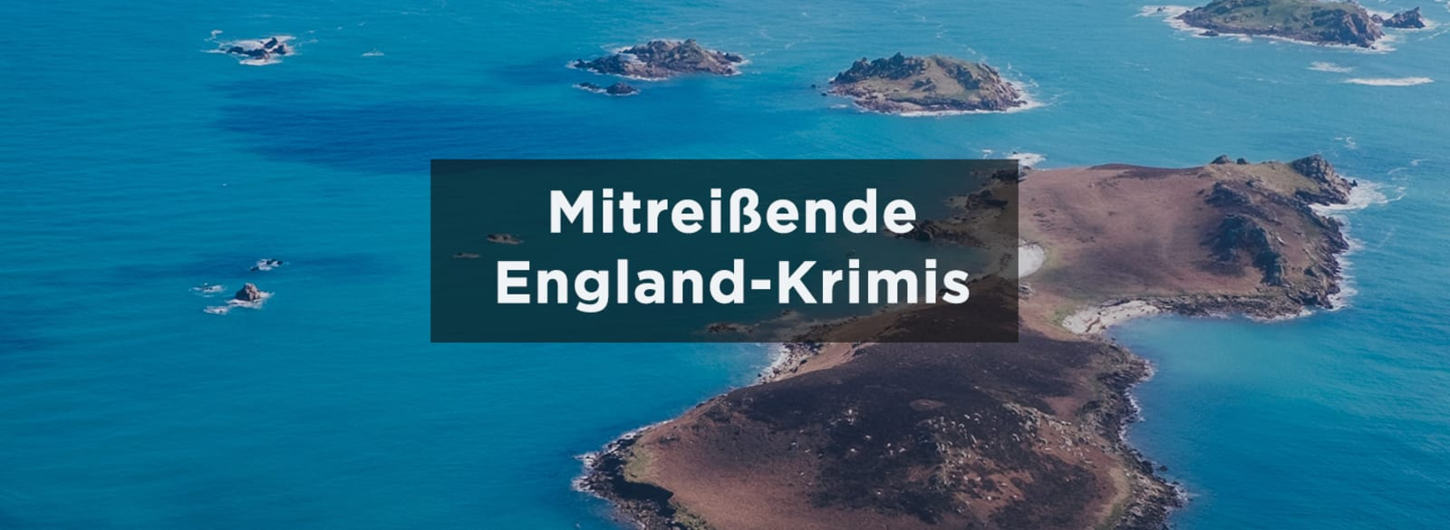 England Banner Urlaubskrimis