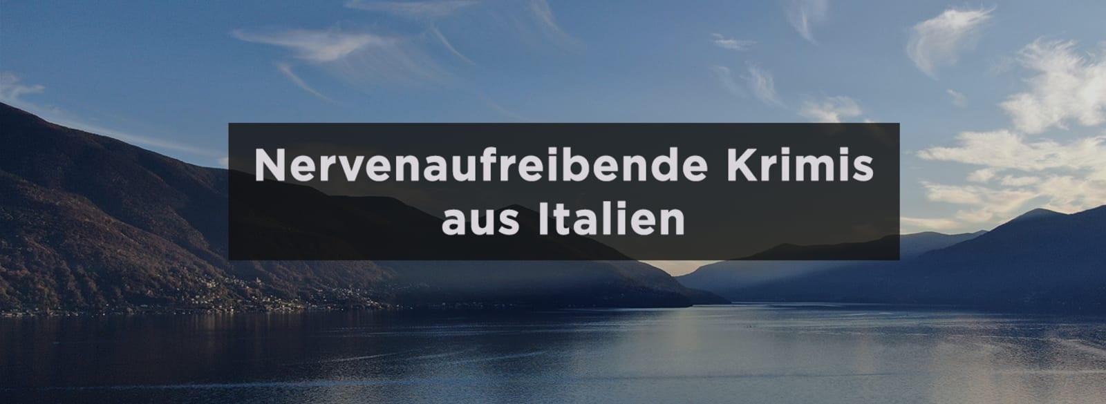 Italien Banner Urlaubskrimis