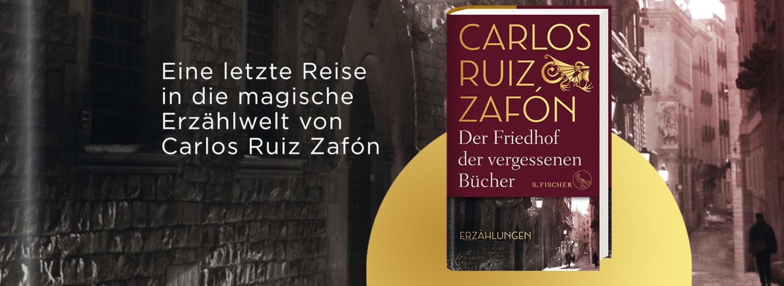 Zafon Friedhof vergessenen Bücher HC