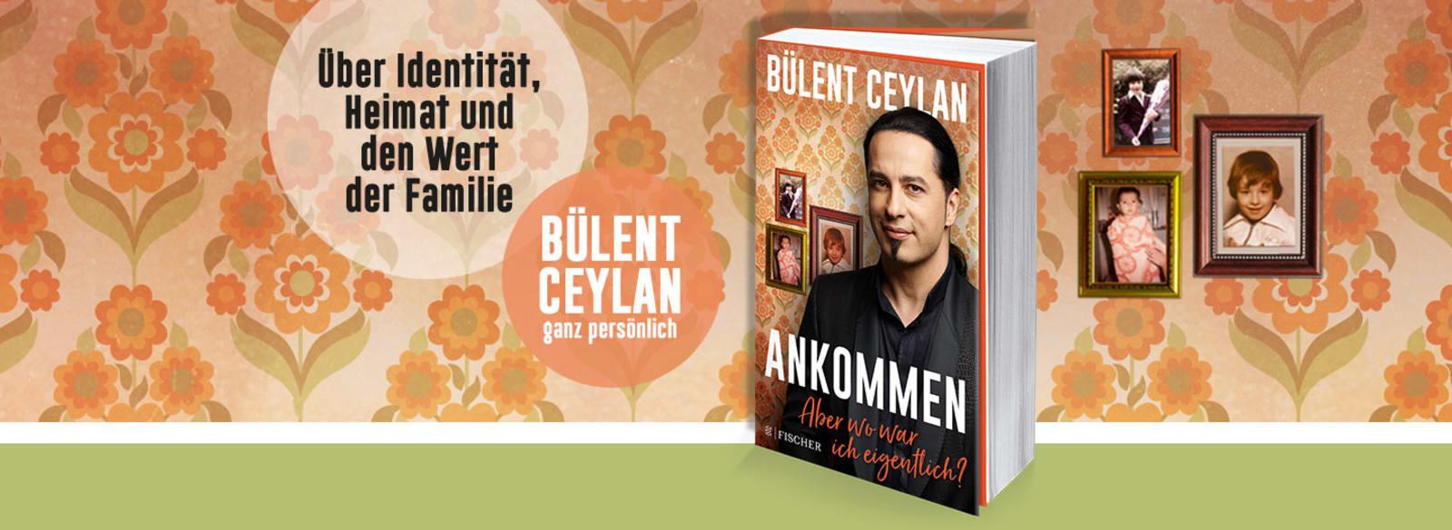 """Banner mit Cover """"Ankommen"""" von Bülent Ceylan"""