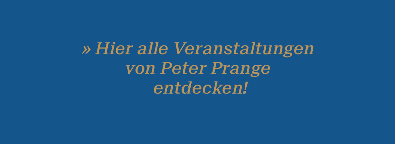 Veranstaltungen Prange Banner